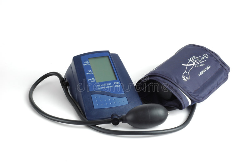 Blood Pressure Cuff royalty free stock photos