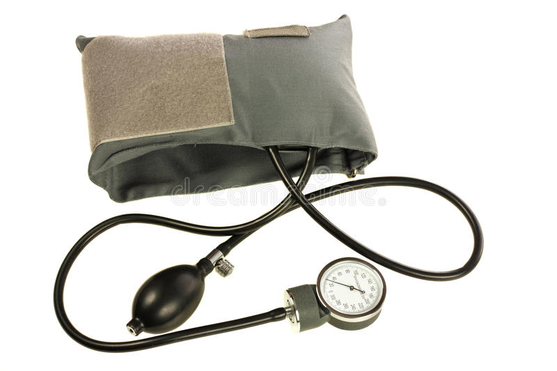 Blood pressure cuff stock photography