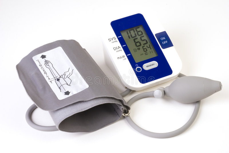 Blood Pressure Cuff Stock Photo