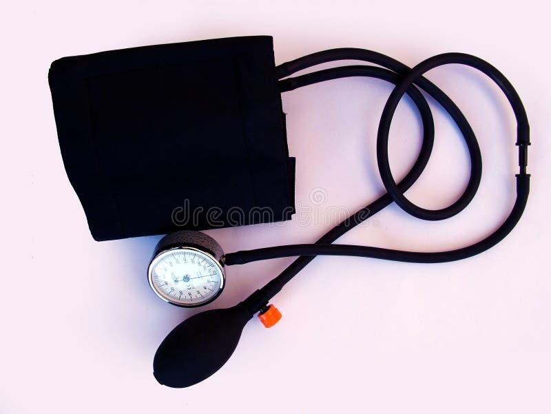 Blood pressure cuff. A medical Blood pressure cuff stock images