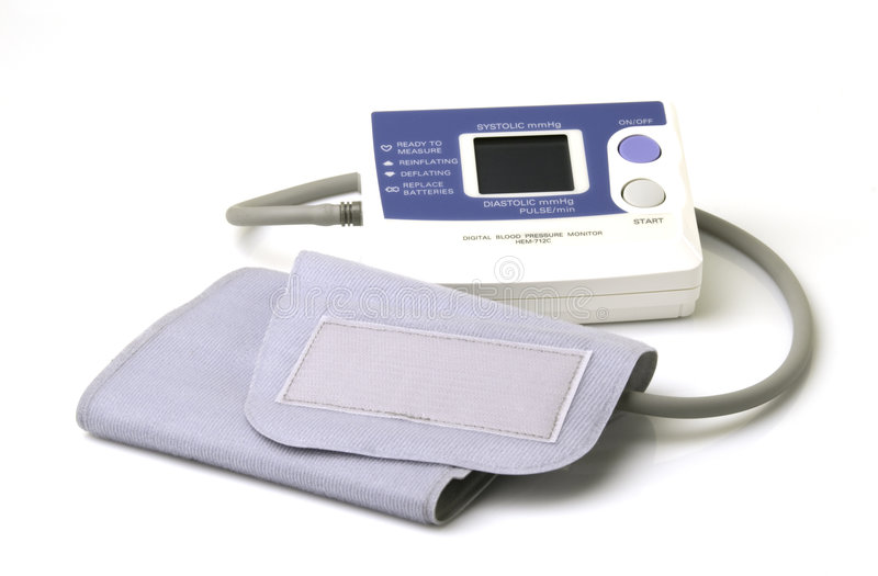 Blood Pressure Gage stock photos