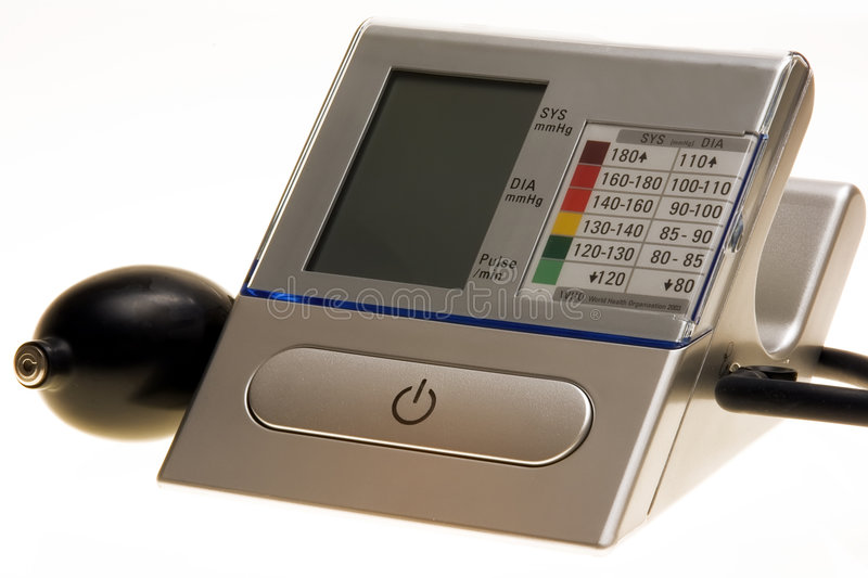 Download Blood Pressure Measure Device Stock Image - Image: 4001843