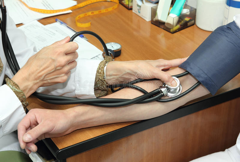 Download Blood pressure measurement stock photo. Image of test - 14685572