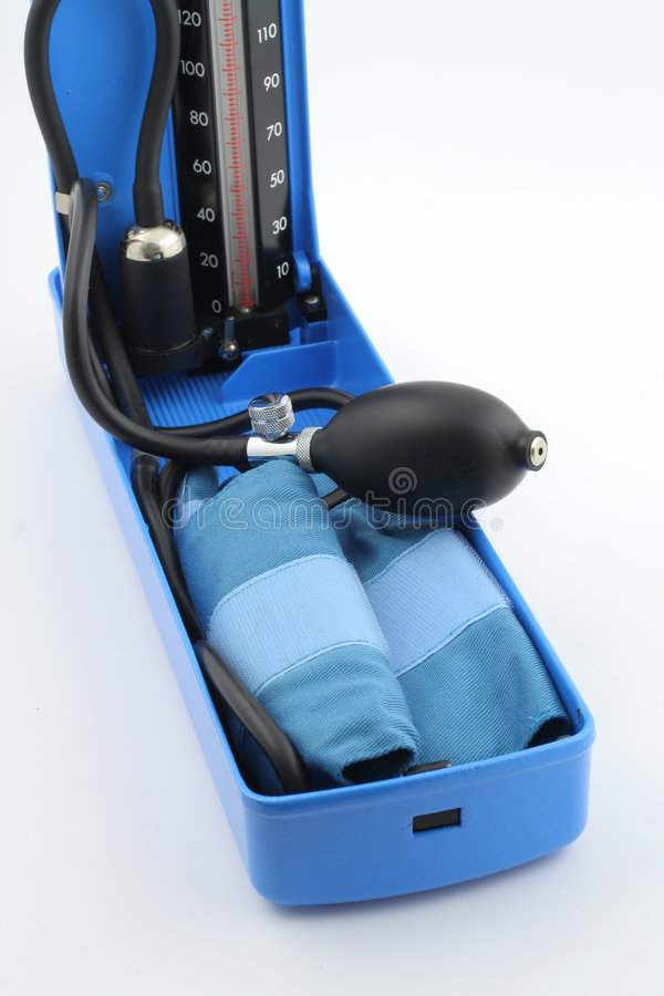 Download Blood-pressure Measuring Equipment Stock Photo - Image: 1385266