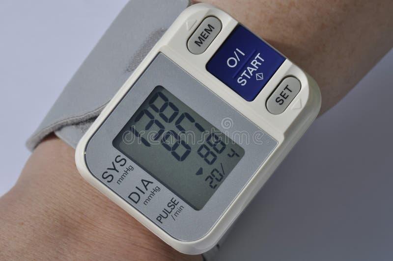 Blood pressure meter royalty free stock images
