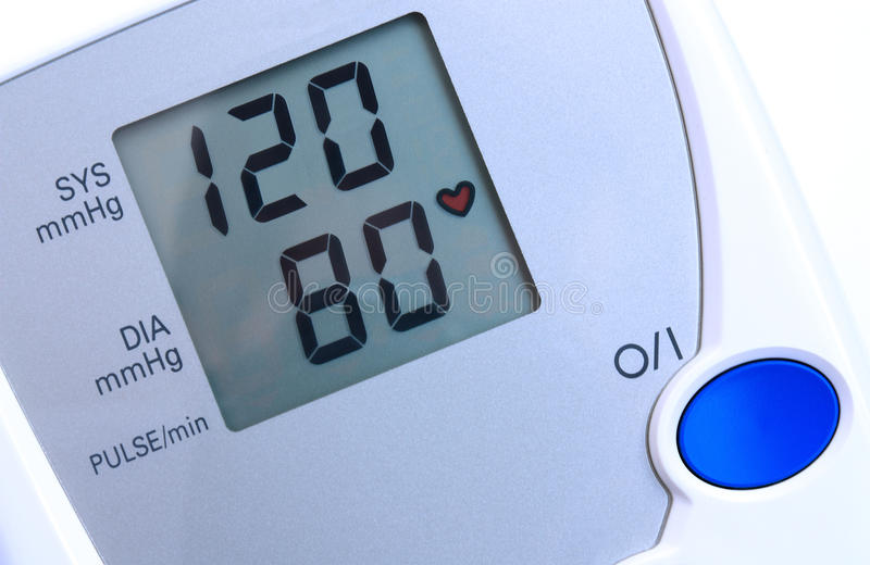 Download Blood pressure monitor stock photo. Image of diastolic - 12509140