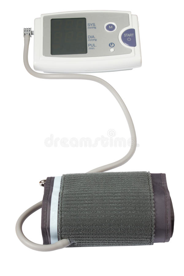 Download Blood pressure monitor stock photo. Image of measurement - 23247970