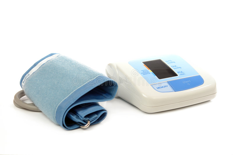 Download Blood pressure monitor stock photo. Image of physical - 4890520