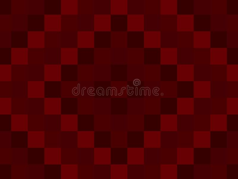 Blood Red Quilt Pattern Background which is Perfect for Slide Sh stock illustration