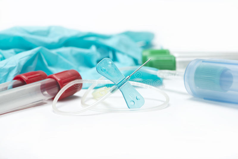 Blood Sample Collection royalty free stock images