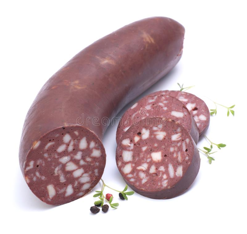 Download Blood sausage stock photo. Image of herbs, speck, sausage - 23947092