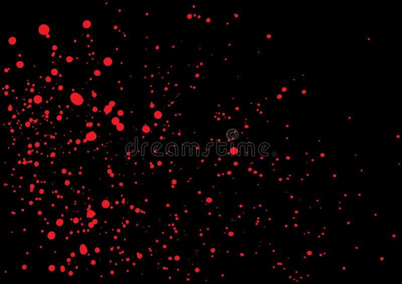 Blood Splatter In Red Ink Color On Black Background Stock Vector Illustration Of Dangerous Color 71669403 15 blood splatter textures (jpg). blood splatter in red ink color on