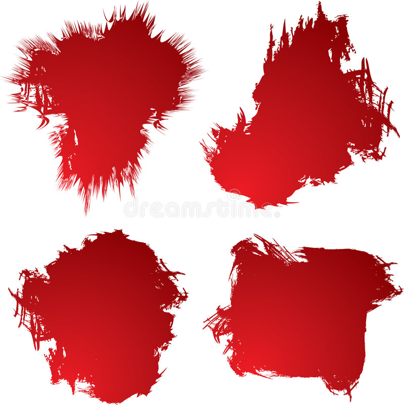 Download Blood stain 4 stock vector. Illustration of conceptual - 2513867