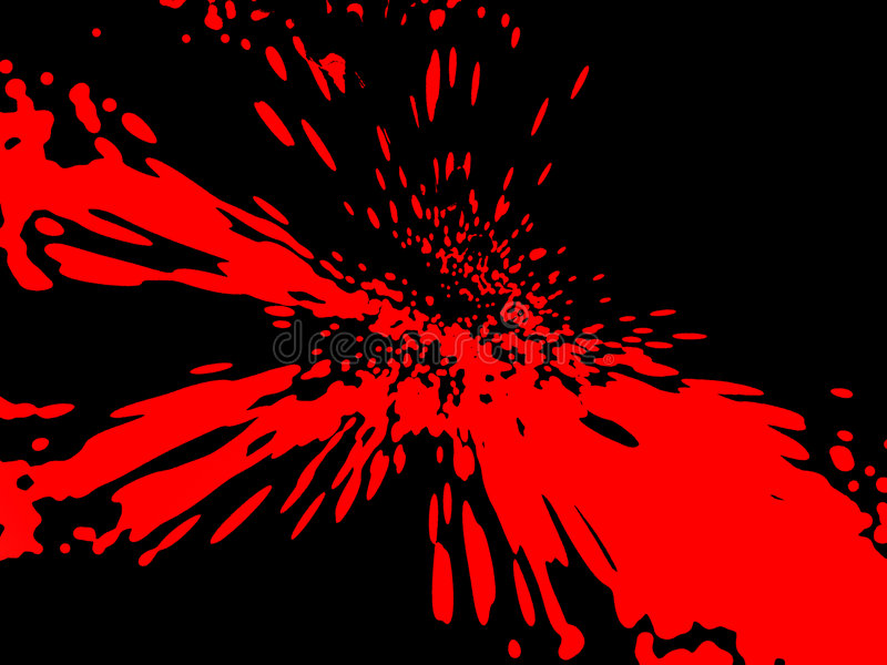 Blood stained background vector illustration