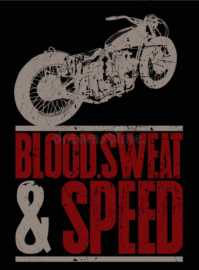 Download Blood, sweat and speed stock vector. Image of traffic - 16737937