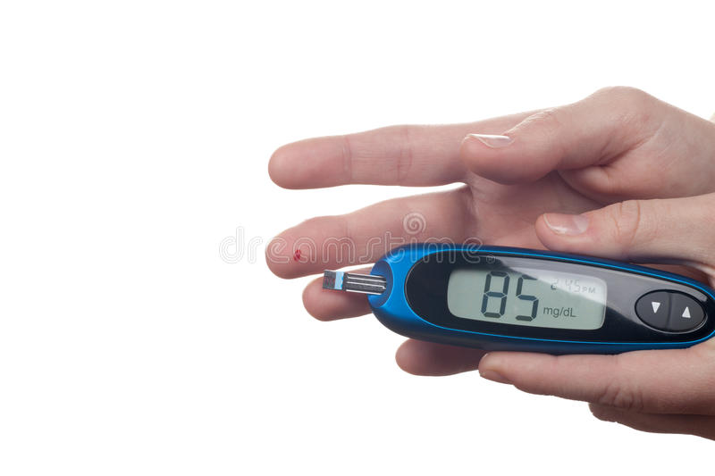 Download Blood Test stock image. Image of monitor, glucose, clinic - 25856453