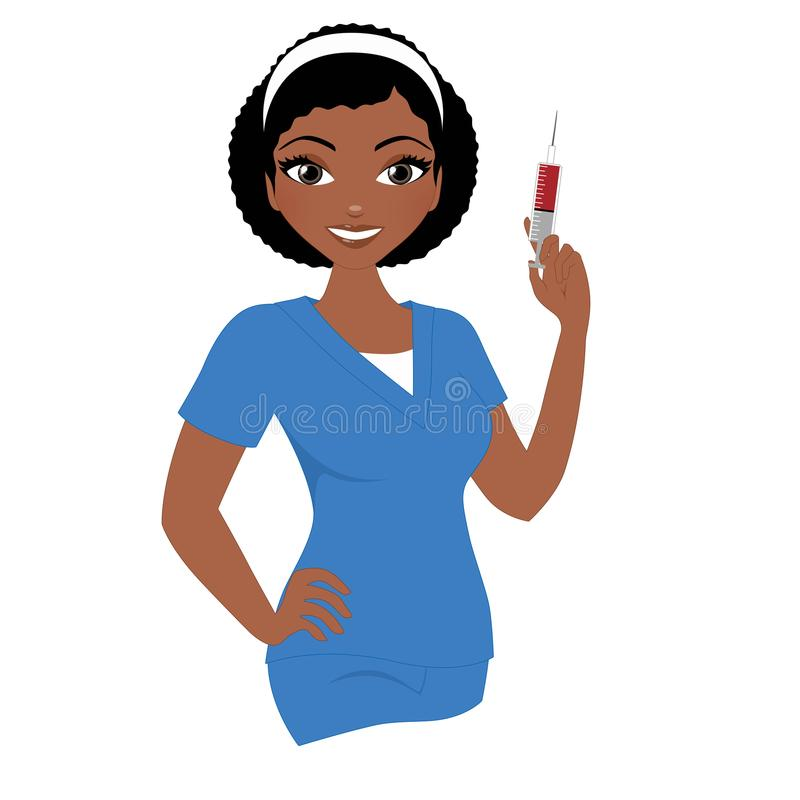 Free Blood Test Nurse Royalty Free Stock Photo - 112157275