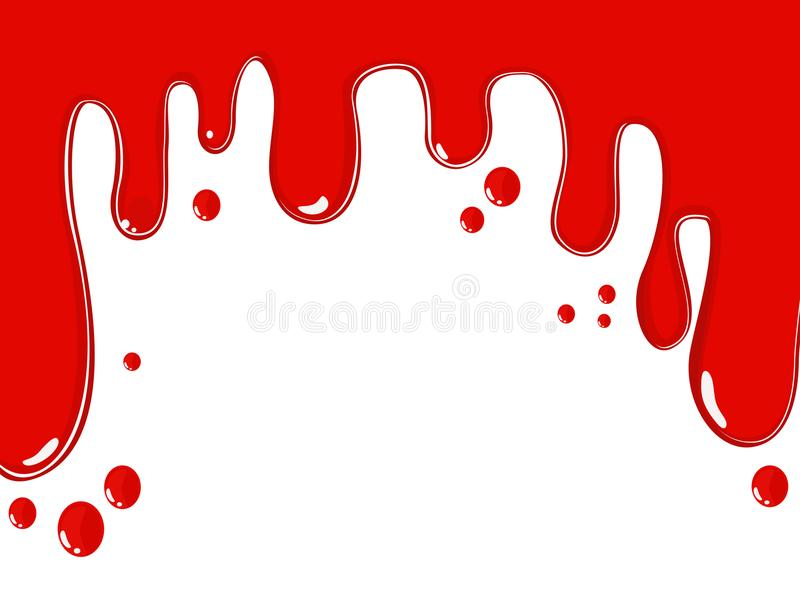 Blood. vector image. stock photos