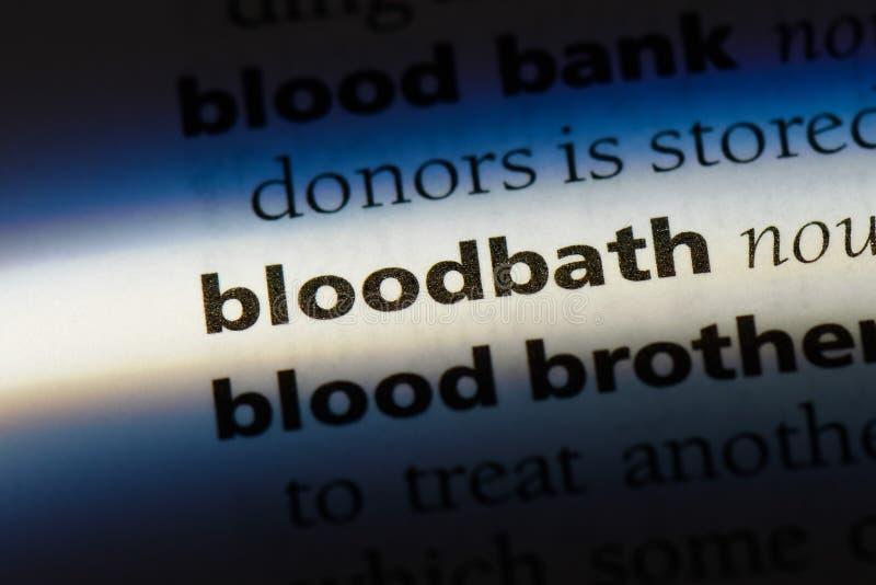 bloodbath foto de archivo