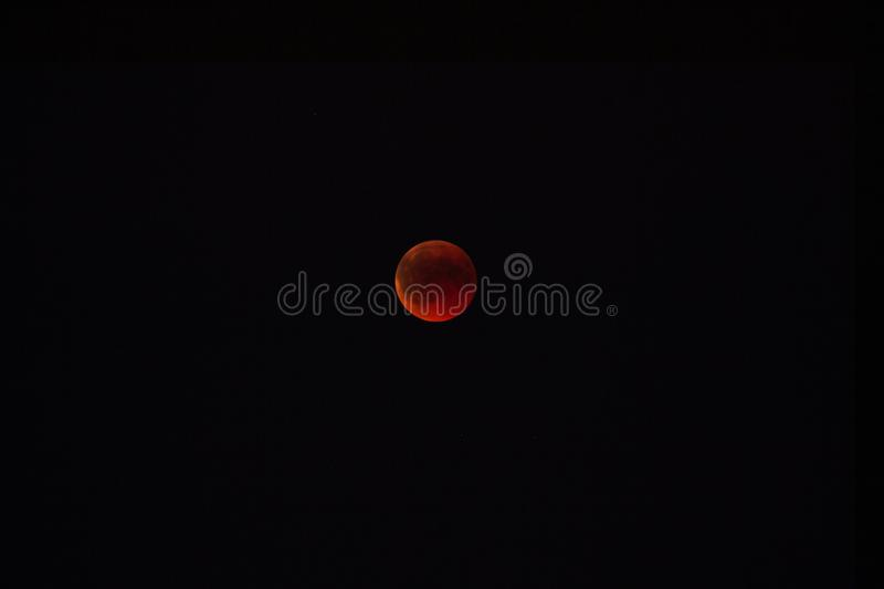 Bloodmoon Germany royalty free stock photos