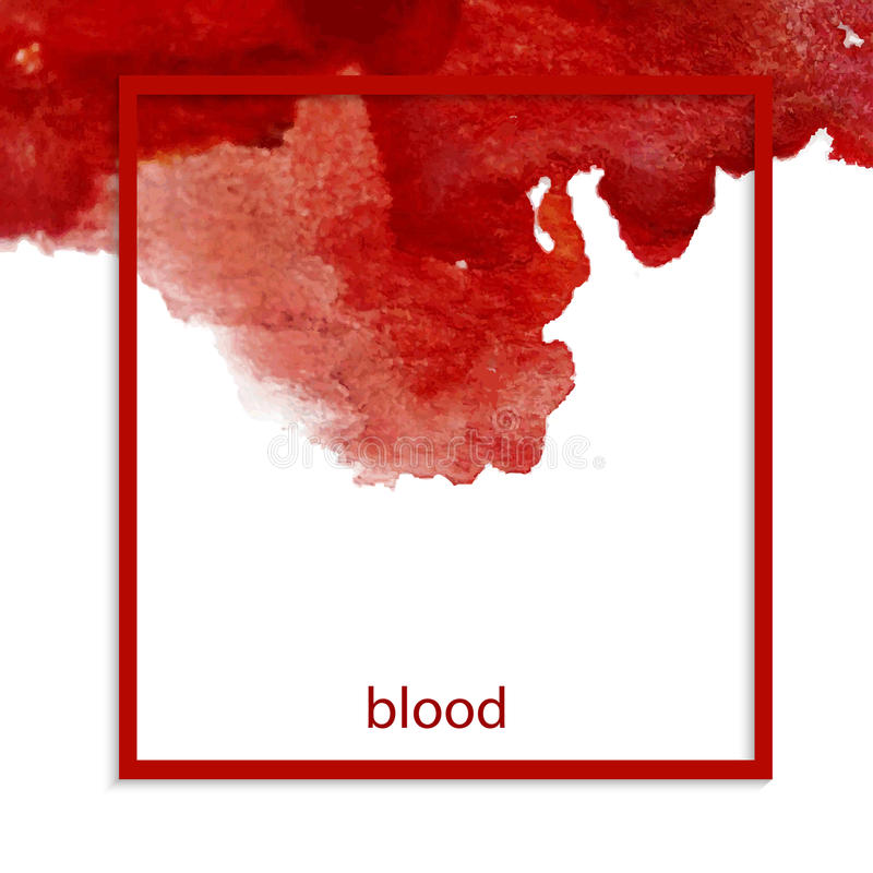 bloodstain ilustracja wektor