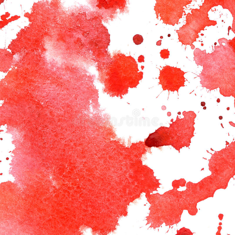 Bloodstain akwareli projekt Halloween od tła blasku księżyca uwagi Ręka remisu ilustracja ilustracja wektor