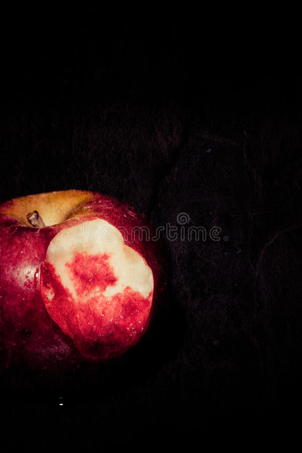 Bloody Apple stock images