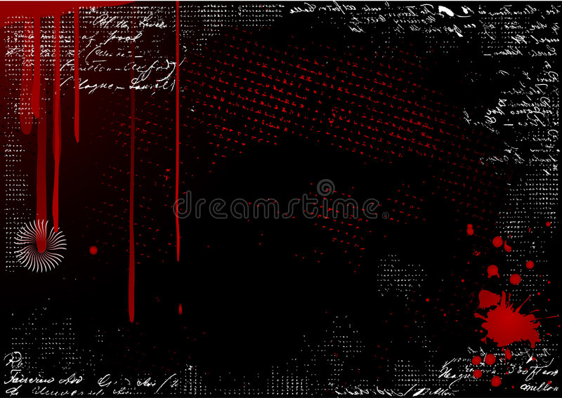 Download Bloody background vector stock vector. Image of grungy - 4808600