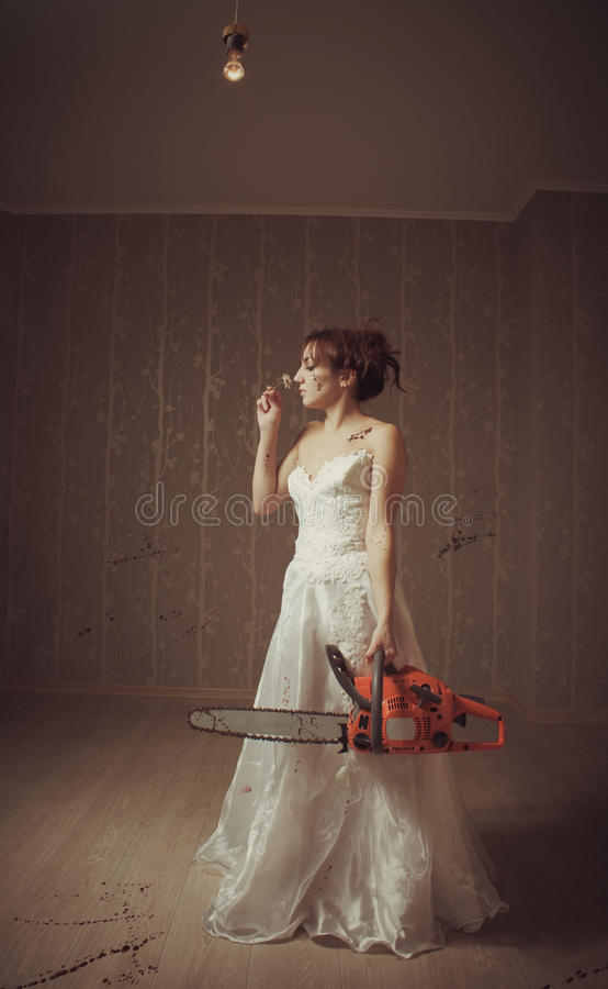 Download Bloody Bride Stock Photo - Image: 27844880