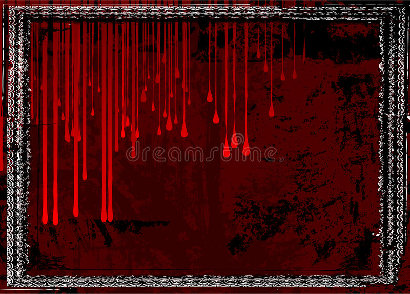bloody frame stock vector illustration of empty dirt