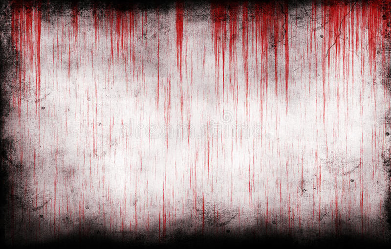 Bloody grungy wall royalty free stock image