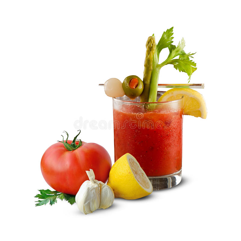 Free Bloody Mary Background Royalty Free Stock Photography - 65435687