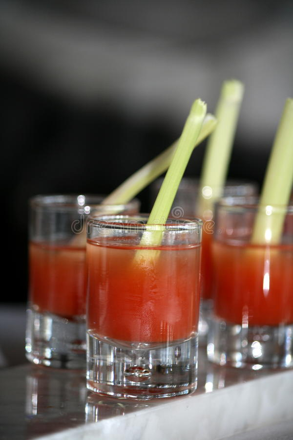 Bloody mary drink royalty free stock image