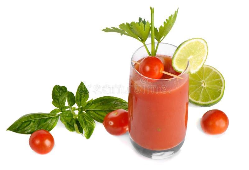 Bloody Mary getrennt lizenzfreie stockbilder