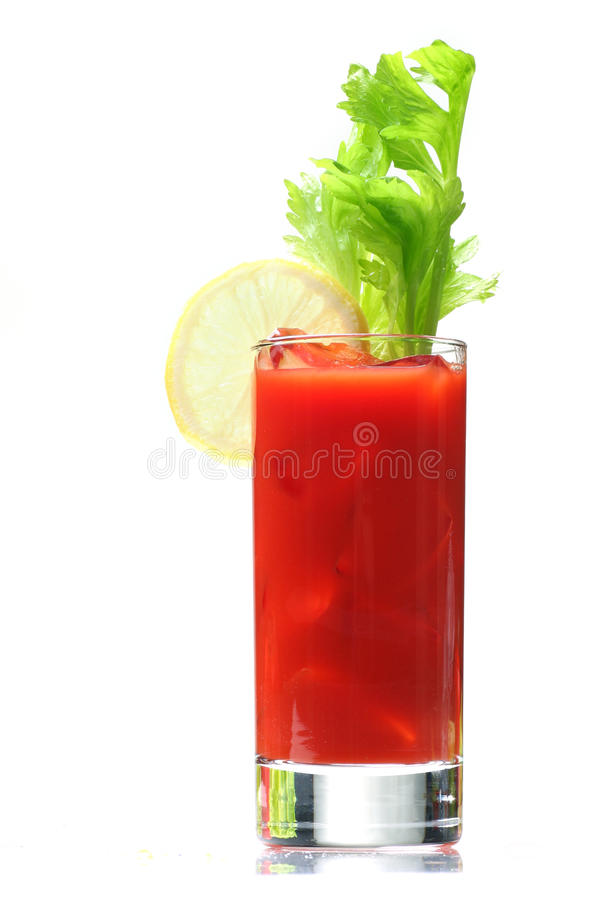 Free Bloody Mary With Lemon Wedge Stock Photos - 11883073