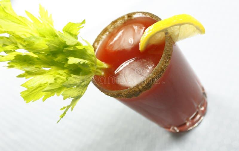 Bloody ou boisson de Mary César photo libre de droits