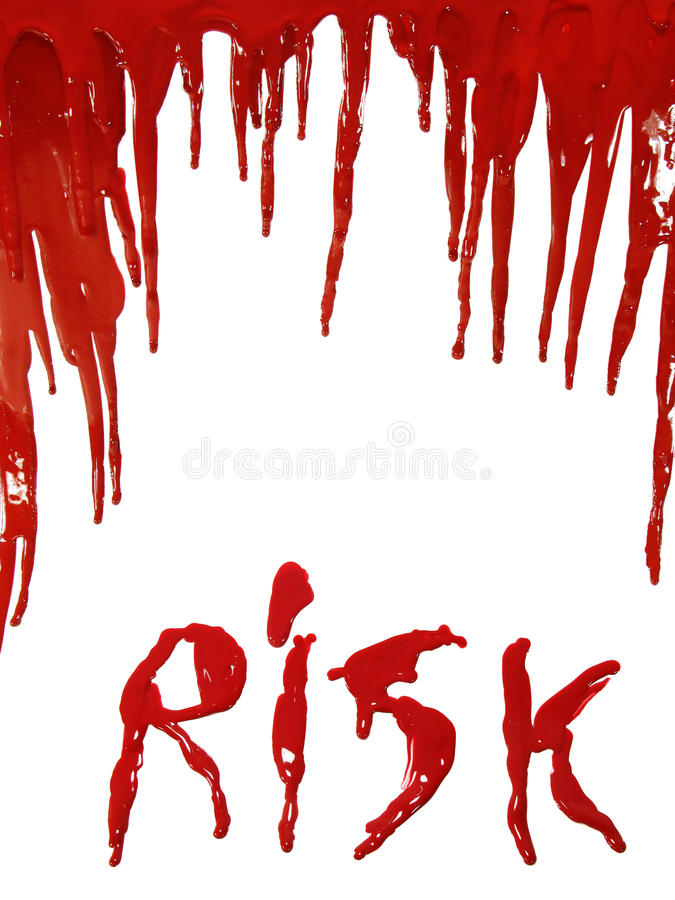 Download Bloody Risk Royalty Free Stock Photos - Image: 11927618
