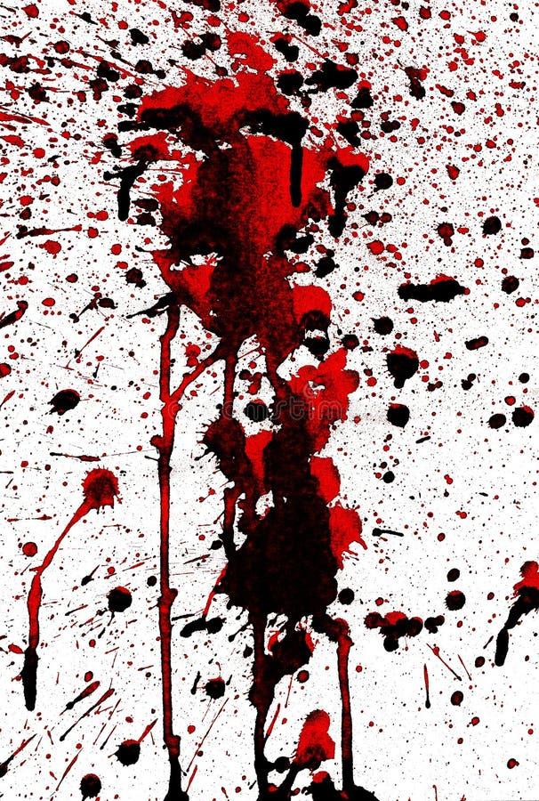 Bloody Splashes Stock Image