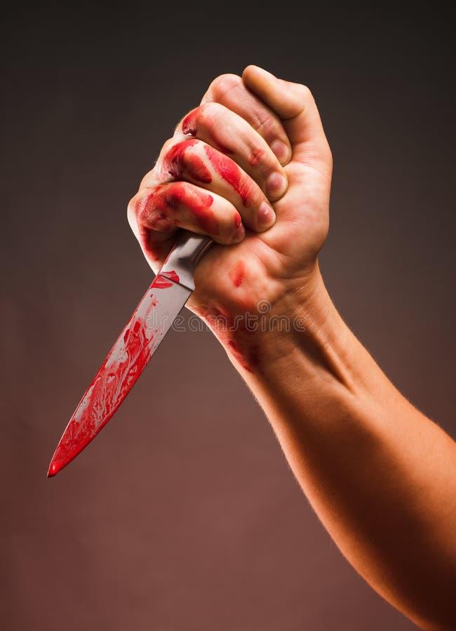 Free Bloody Stabbing Royalty Free Stock Image - 26111016