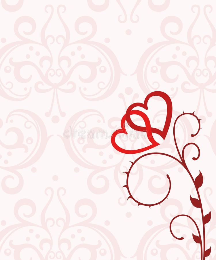 Blooming Love royalty free stock image