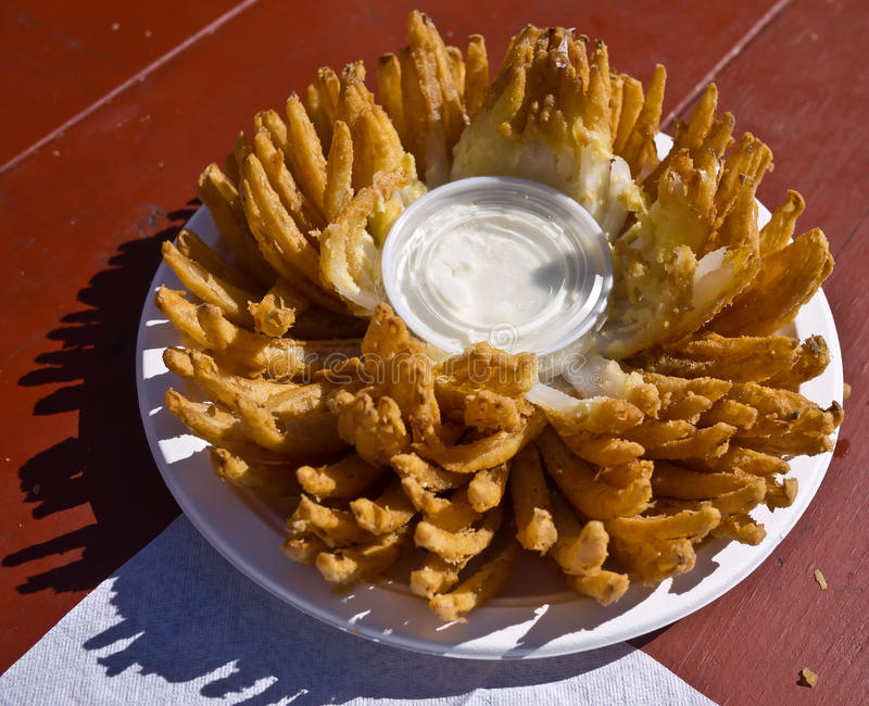 Download Blooming Onion - State Fair Junk Food Stock Photo - Image: 21456580