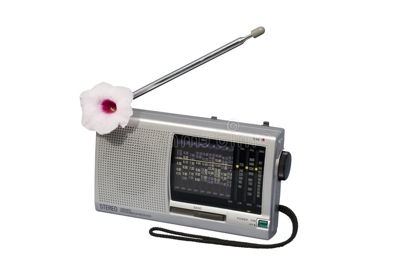 Download Blooming Radio stock image. Image of display, party, compact - 1703825