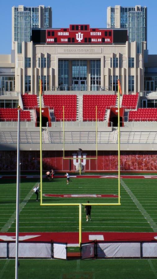 bloomington indiana minnes- stadionuniversitetar arkivfoto