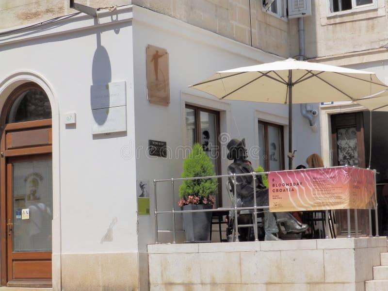 Bloomsday in Pula, Kroatië royalty-vrije stock afbeelding