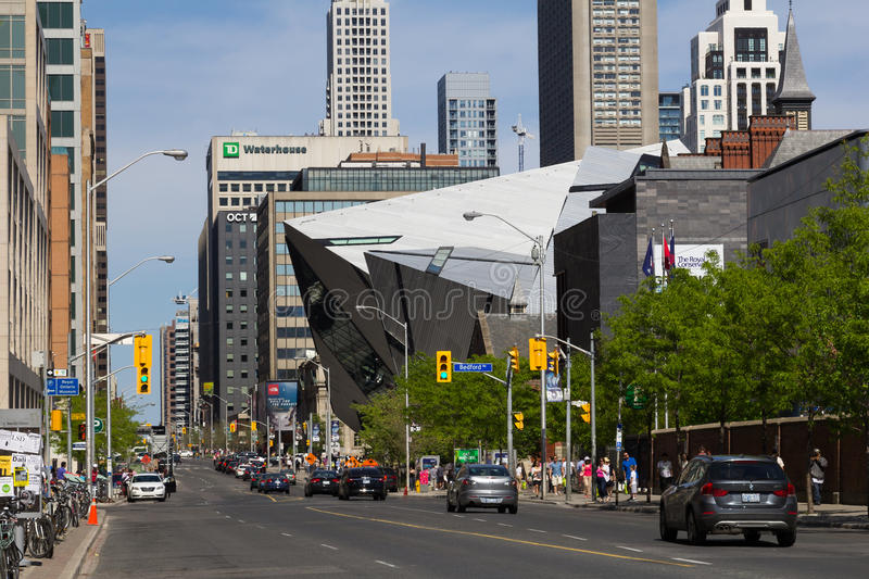 Bloor Street West royalty free stock photography