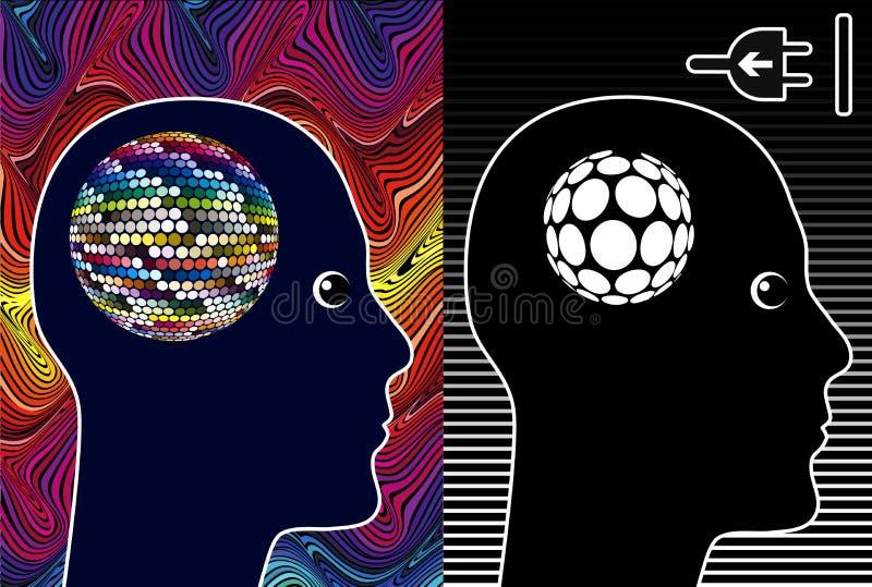 Bloque creativo stock de ilustración