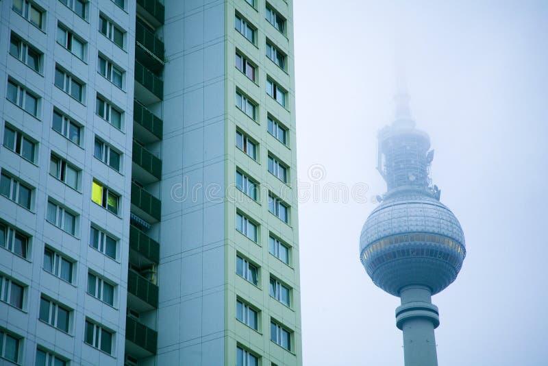 Bloque de Berlín fotos de archivo