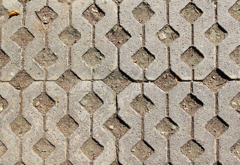 Bloque de cemento del piso imagen de archivo libre de regalías