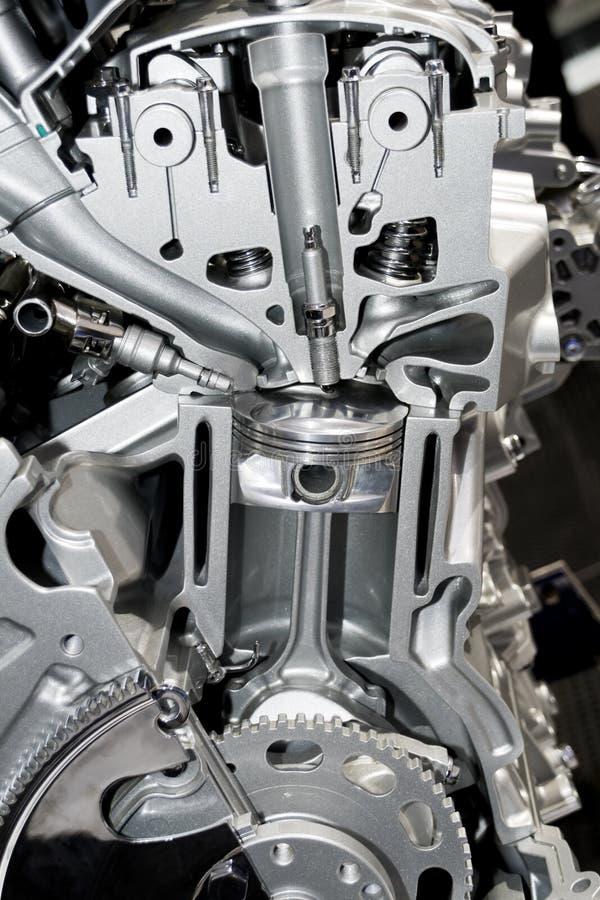 Bloque de cilindro del automóvil fotos de archivo libres de regalías