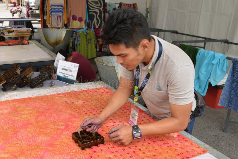 Bloque del batik imagen de archivo